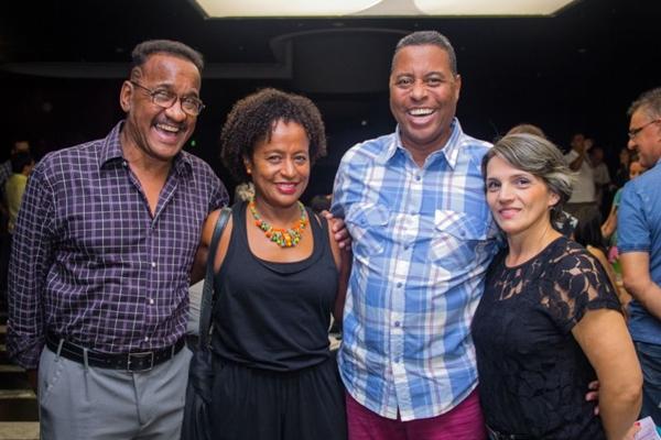 Cid, Neide, Sérgio Botelho e Lilían Avelar ( Romulo Juracy/Esp. CB/D.A Press)
