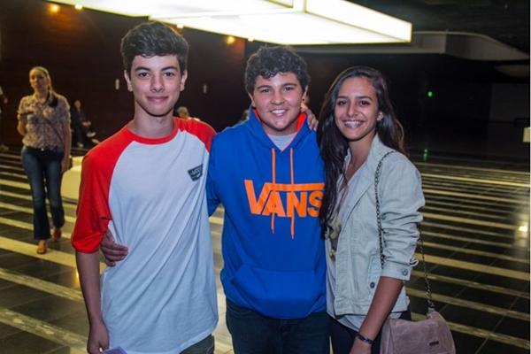Bruno Guimarães, Rodrigo Lopes e Ana Luiza Biachetti  (Romulo Juracy/Esp. CB/D.A Press)