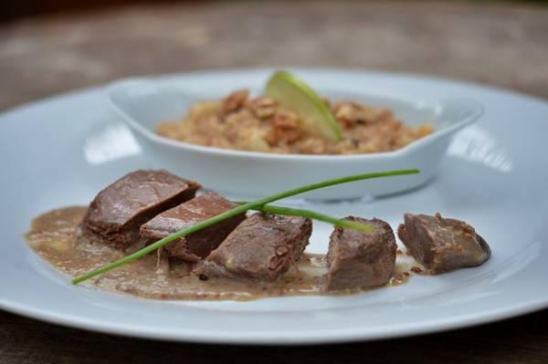 Marreco confitado é um dos pratos recém-lançados no Inácia Poulet Rôti (Gustavo Moreno/CB/D.A Press)