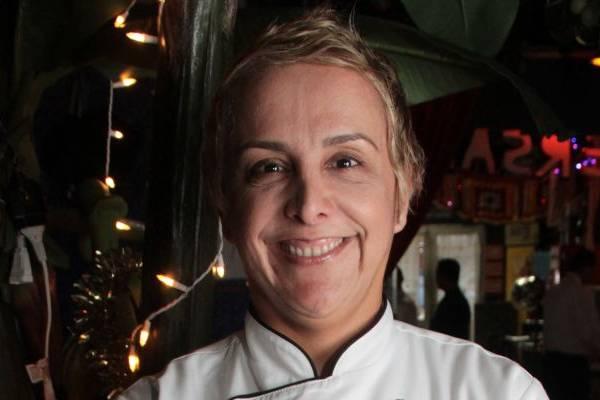 Mara Alcamim, chef no Universal Diner (Lula Lopes/Esp. CB/D.A Press)