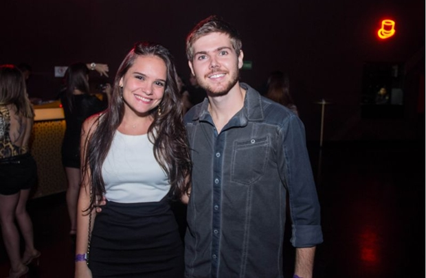 Mickaela Monteiro e André Cavalher (Romulo Juracy/Esp. CB/D.A Press)