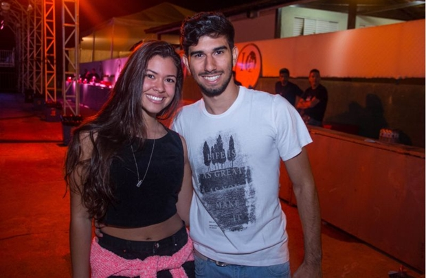 Luiza Mello e Gabriel Miranda (Romulo Juracy/Esp. CB/D.A Press)