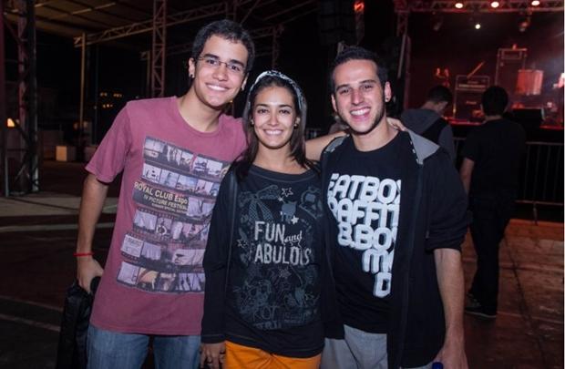 Samuel, Cecília Paniago e Rafael Bitter  (Romulo Juracy/Esp. CB/D.A Press)