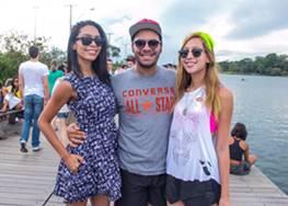 Karen Ferreira, Paulo Fernando e Juliana Viegas  (Romulo Juracy/Esp.CB)