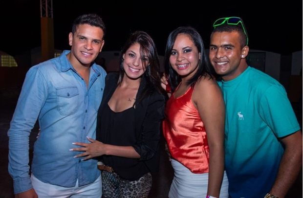 Guilherme Oliveira, Raíssa Carponez, Layla Cristina e Igor Vinicius (Romulo Juracy/Esp. CB/D.A Press)