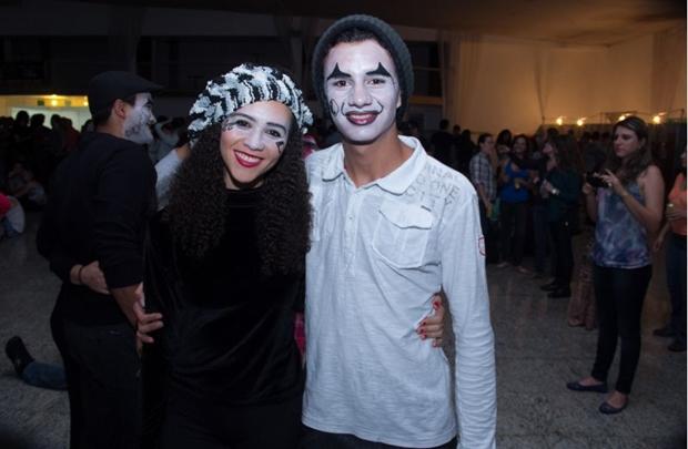 Kiara Rodrigues e Rayan Silva (Romulo Juracy/Esp. CB/D.A Press)