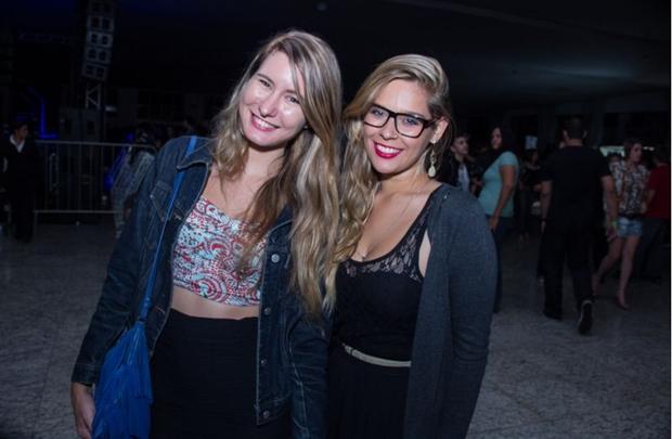 Camila Gehlen e Daiana Ojeba (Romulo Juracy/Esp. CB/D.A Press)