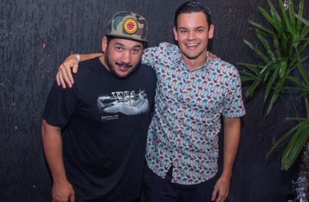 DJs Zehdoroque e João Brasil (Romulo Juracy/Esp. CB/D.A Press)