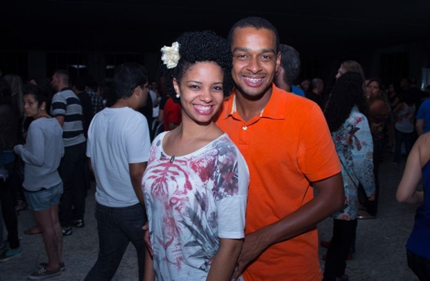 Ana Paula Lopes e Felipe Pereira  (Romulo Juracy/Esp. CB/D.A Press)