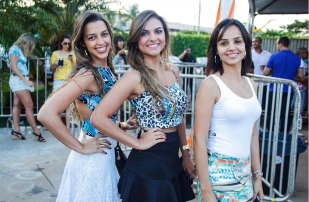 Marcela Monteiro, Julia Dantas e Carla Camilo (Romulo Juracy/Esp. CB/D.A Press)