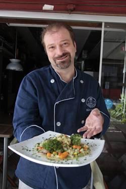 Mário Saraiva criou um falso risoto, à base de batata-inglesa (Ana Rayssa/Esp. CB/D.A Press)