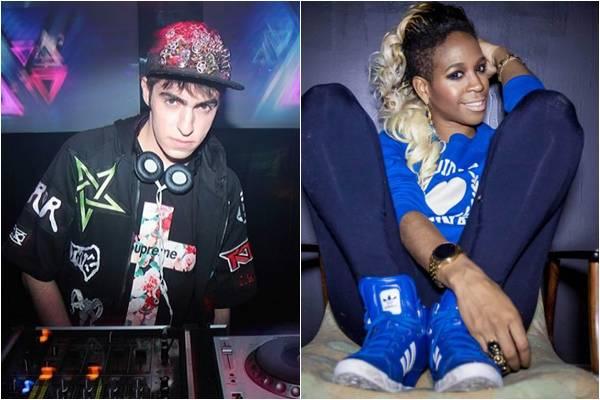 Esta será a primeira vez que o DJ e a rapper curitibana tocarão juntos na capital  (Instagram/Reprodução, Lucas Costa/Divulgação)
