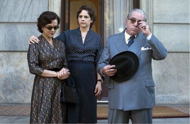 Tony Ramos dá vida a um Vargas acuado por conspirações contra seu governo  (Ana Stewart/Divulgação)