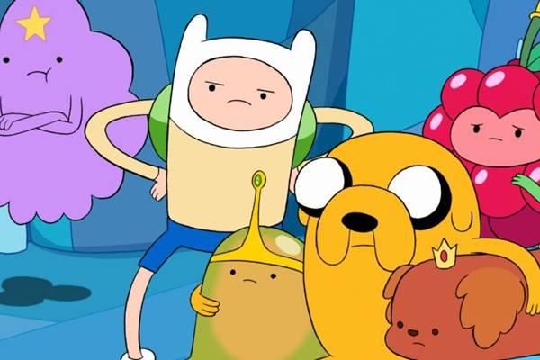 O desenho A hora da aventura é um dos sucessos do Cartoon Network entre o público  (Cartoon Network /Divulgação)