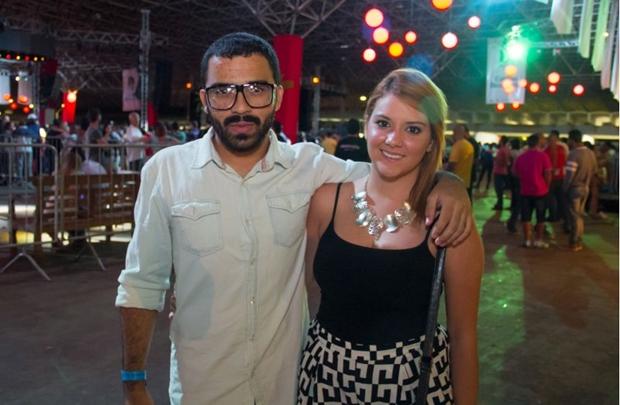 José Filho e Luiza Moreno (Romulo Juracy/Esp. CB/D.A Press)