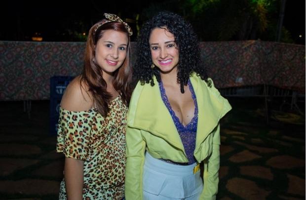 Jessika Veridiano e Rafaela Goulart (Romulo Juracy/Esp.CB)