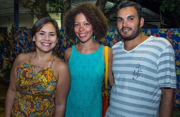 Marcela Rodrigues, Angela Guimarães e Marcos Sousa (Romulo Juracy/Esp.CB)