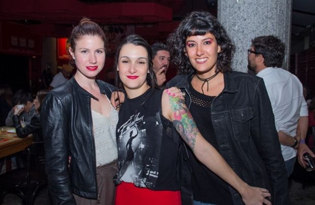 Fiona Burns, Rachel e Erika Smidt (Romulo Juracy/Esp. CB/D.A Press)