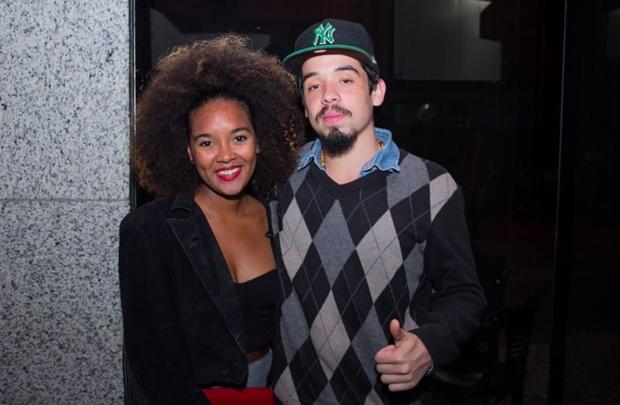 Caroline Bento e Eric Oliveira (Romulo Juracy/Esp. CB/D.A Press)