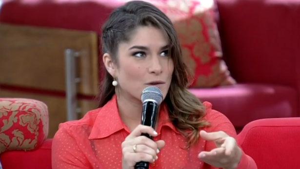 Nascida na Bahia e criada em Minas, atriz acredita que distância de BH foi um dos fatores mais importantes para a doença (Reprodução/TV Globo)