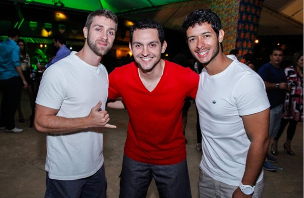 Felipe Bruno, André Macedo e Alex Chaves (Romulo Juracy/Esp. CB/D.A Press)