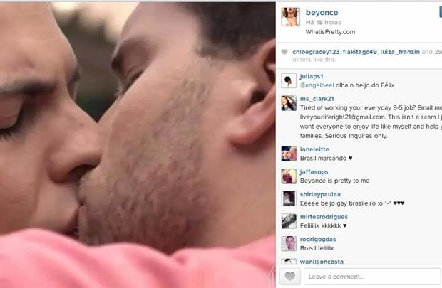 O vídeo é feito de imagens enviadas pelos fãs  (Instagram/Reprodução )
