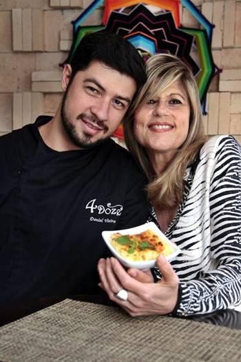 Daniel Vieira e a mãe, Daisy: %u201CA cocada dela é um doce que não consigo recusar%u201D (Ana Rayssa/Esp. CB/D.A Press)