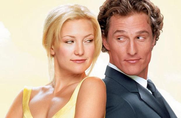 Kate Hudson e Matthew McConaughey protagonizam o filme Como perder um homem em 10 dias (Paramount Pictures/UIP/Divulgação )