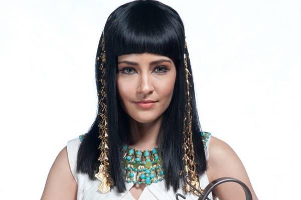 A atriz interpretou a Azenate, em 'José do Egito' (Central Record de Comunicação/Divulgação)