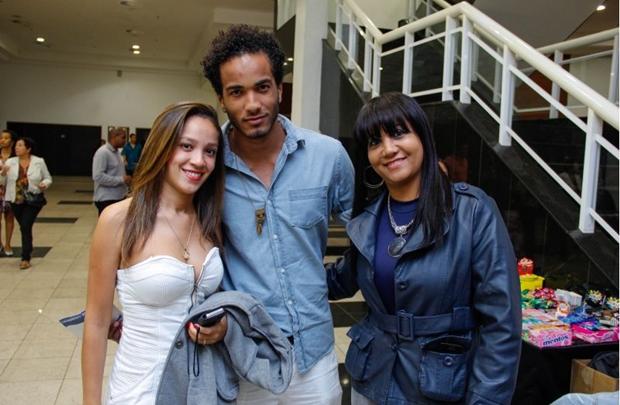 Ana Carla Rodrigues, Guilherme Rabelo e Rose Galvão (Romulo Juracy/Esp. CB/D.A Press)