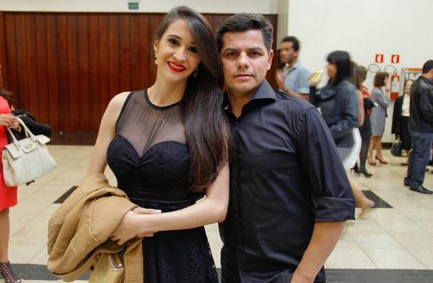 Janaina Reis e Gilson Ramalho (Romulo Juracy/Esp. CB/D.A Press)