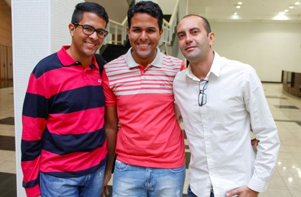 Alessandro, Alexandre Costa e Matheus Veiga (Romulo Juracy/Esp. CB/D.A Press)