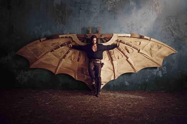 O seriado mostra Leonardo Da Vinci como um soldado em combate (Fox/Divulgação)
