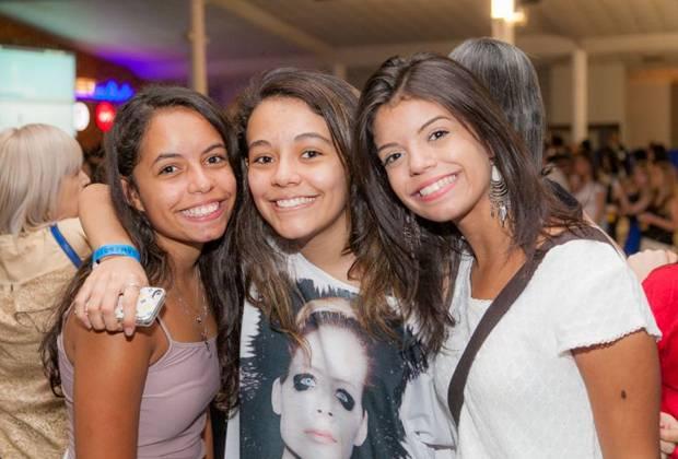 Giovanna Vitorino, Camila Perisse e Viviane Vitorino (Felipe Menezes/Divulgação)