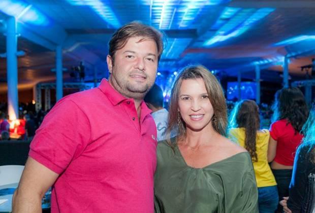 Rodrigo e Juliana Morgado  (Felipe Menezes/Divulgação)