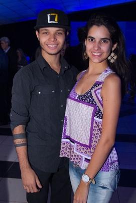Walison Santos e Talita Teixeira  ( Romulo Juracy/Esp. CB/D.A Press)