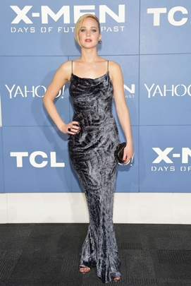 A atriz no premiere de X-men: dias de um futuro esquecido ( Paris Filmes/Divulgação)