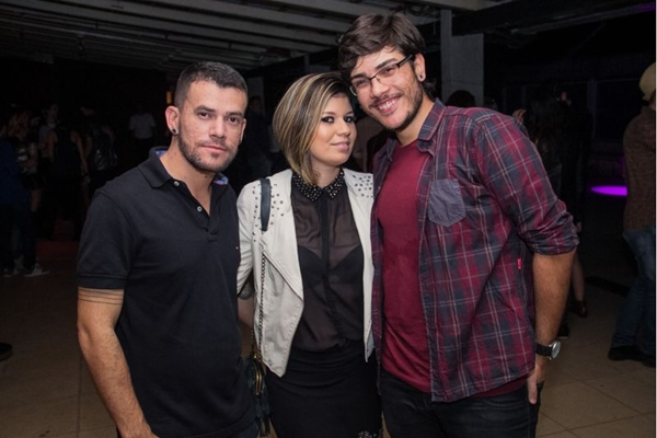 Naldo Sousa, Marcela Cristine e Lucas Antun (Romulo Juracy/Esp. CB/D.A Press)