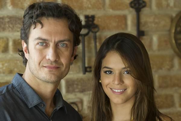 A sensualidade deve ser muito explorada nas cenas de intimidade do casal (Estevam Avellar/TV Globo)