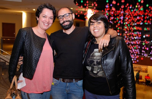 Tina Maia, Eder Lacerda e Juliana Ribeiro (Romulo Juracy/Esp. CB/D.A Press)