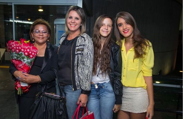 Eunice Sousa, Regina Selma, Letícia Landim e Maria Clara Queiroz (Romulo Juracy/Esp. CB/D.A Press)