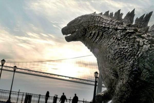Os seres humanos são coadjuvantes em um embate entre criaturas gigantescas (Warner/Divulgação)