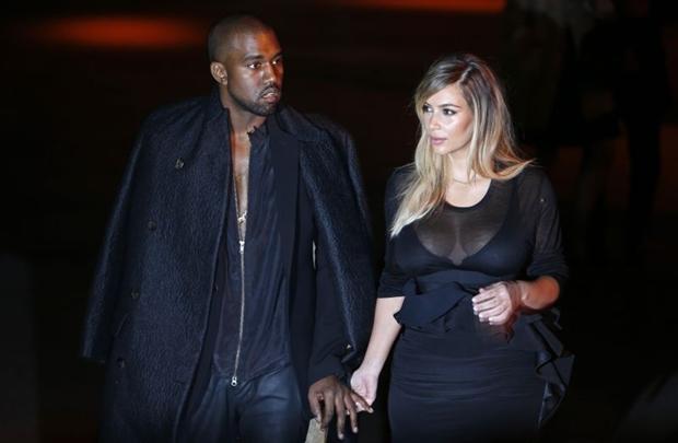 Kanye e Kim se casarão na próxima semana  (CHARLES PLATIAU/Divulgação )