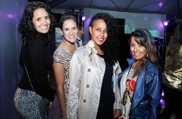 Camila e Carolina Dantas, Isabele Luise e Flávia Resende (Romulo Juracy/Esp. CB/D.A Press)
