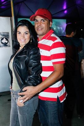 Evelyn Lima e Neliomar Santana (Romulo Juracy/Esp. CB/D.A Press)