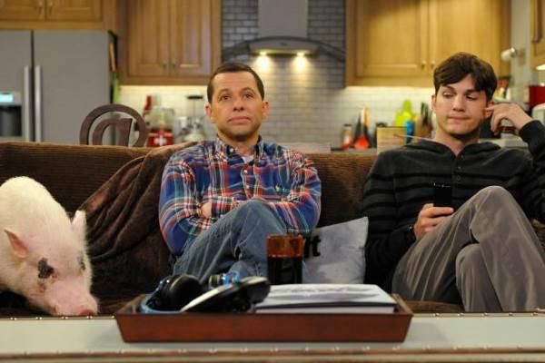 Two and half men dará adeus a televisão após 11 anos no ar (Warner Channel/Divulgação)