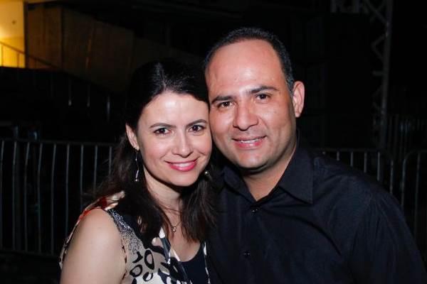 Margareth Almeida e Valter Lage (Romulo Juracy/Esp. CB/D.A Press)