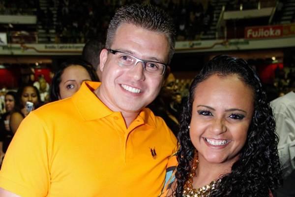 Marcos Paulo e Daniela Lima ( Romulo Juracy/Esp. CB/D.A Press)