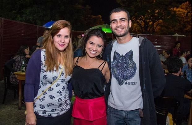 Luiza Folle, Mayume Kanegae e Carlos Lacerda (Romulo Juracy/Esp. CB/D.A Press)