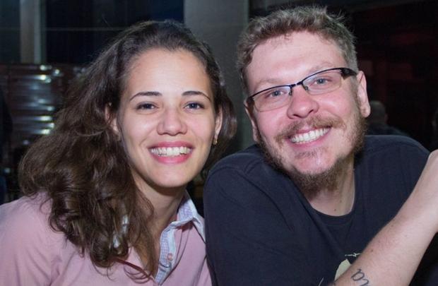 Cíntya Feitosa e Hugo Pachiella (Romulo Juracy/Esp. CB/D.A Press)